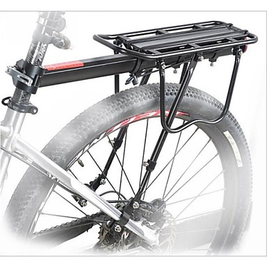 Bike Cargo Rack Justerbare Fjellsykkel / Vei Sykkel Aluminiumslegering Svart