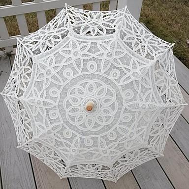 Blonde Bryllup Daglig Maskerade Strand Paraply Paraplyer 30.7 tommer (ca. 78cm)