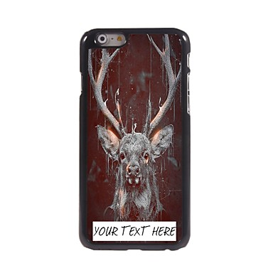 cazul în care telefonul personalizate - cerb carcasa de metal de design pentru iPhone 6 plus