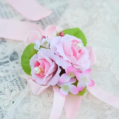 Flori de Nuntă Corsaj de mână Nuntă Party / Seara Bumbac 1.18