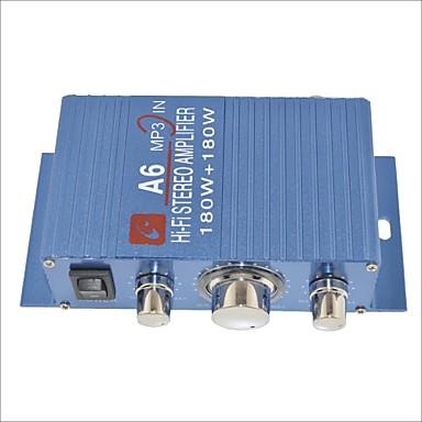 a6 180w hallo-Fi-Stereo-Verstärker für Auto / Motorrad-blau