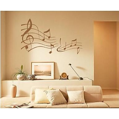 Musik Wand-Sticker Flugzeug-Wand Sticker Dekorative Wand Sticker, Vinyl Haus Dekoration Wandtattoo Wand
