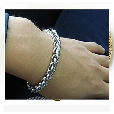 Chain Bracelet Stainless Steel Titanium Steel Dragon Jewelry Party Daily Casual Costume Jewelry