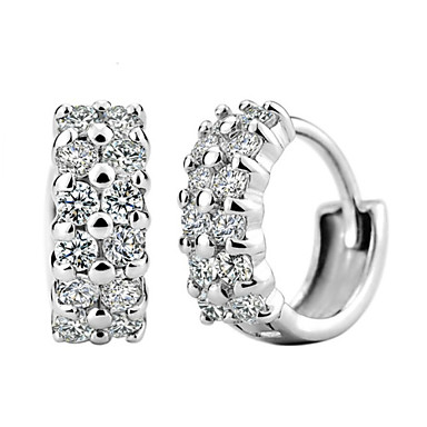 Love Story Women's Fashion 925 Silvering Earring Elegant Style