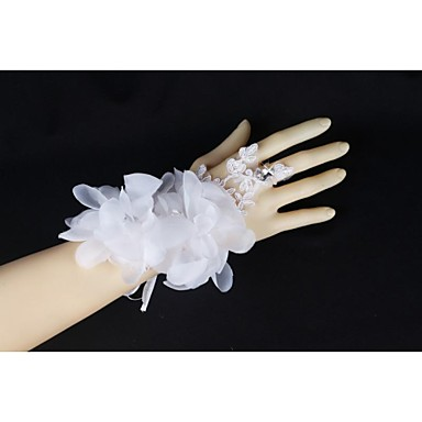 pols lengte feesthandschoen bruids handschoenen elegante klassieke stijl