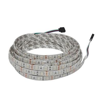 5 метров RGB ленты 300 светодиоды Тёплый белый / RGB / Белый Водонепроницаемый 12V
