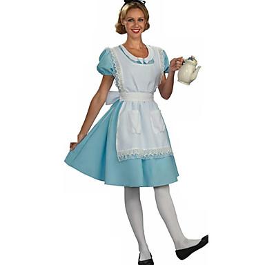 Lovely Alice Maid Cotton Halloween Female Uniforms