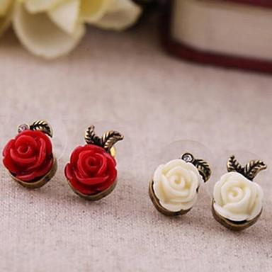 Women's 1 Drop Earrings Jewelry Plastic Alloy Flower Jewelry Costume Jewelry