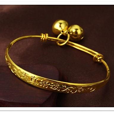 Fine Grain 24 K Gold Plating and Children's Bracelet