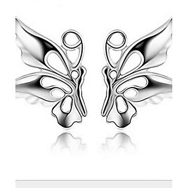 Ezüst - Női - Díszgomb fülbevalók