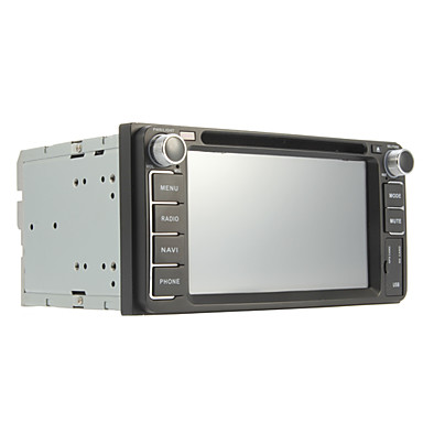 6.2-inch 2 Din TFT Screen In-Dash Car DVD Player For Toyota With Navigation-Ready GPS,Bluetooth,iPod-Input,RDS