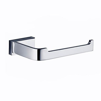 Toilet Paper Holder High Quality Contemporary Brass 1 pc - Hotel bath