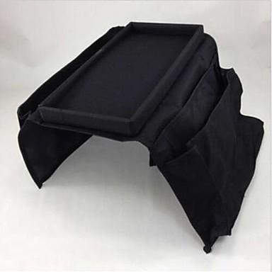 Carbon Fiber Oval Lidded Home Organization, 1pc Storage Boxes