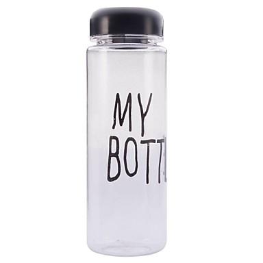 Drinkware Plastic Water Bottle Decoration Girlfriend Gift 1pcs