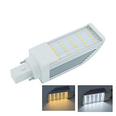 5W G24 LED Λάμπες Καλαμπόκι T 25 SMD 2835 475 lm Θερμό Λευκό / Ψυχρό Λευκό Διακοσμητικό AC 85-265 V