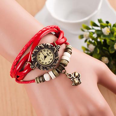 Wanbao женщины все соответствующие старинные животного кулон часы