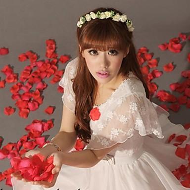Gummi / Satin Stirnbänder / Blumen mit 1 Hochzeit / Besondere Anlässe / Draussen Kopfschmuck