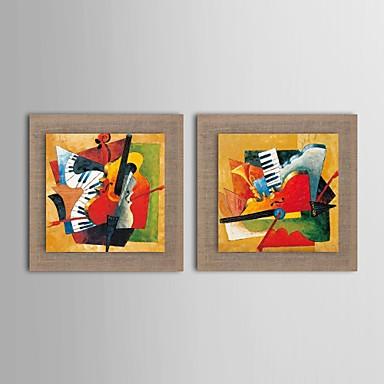 El-Boyalı Fantezi Yatay, Geleneksel Hang-Boyalı Yağlıboya Resim Ev dekorasyonu Çift Panelli