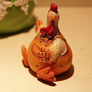 Animals Polyresin Retro Modern/Contemporary Country,Collectibles Decorative Accessories