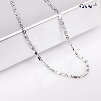 Jewelry Chain Necklaces Wedding / Party / Daily / Casual / Sports Alloy Women Silver Wedding Gifts