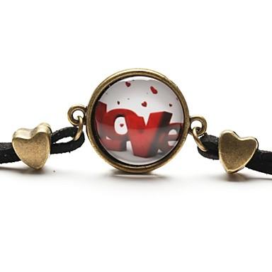 billige Motearmbånd-Dame Vedhend Armband Vennskap armbånd Vintage Armbånd Kjærlighed damer Harpiks Armbånd Smykker Til Daglig Avslappet Sport