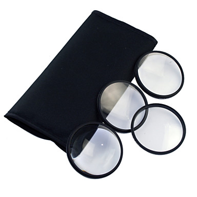 77mm Macro Filter Set with PU Leather Bag (+1, +2, +3, +4)