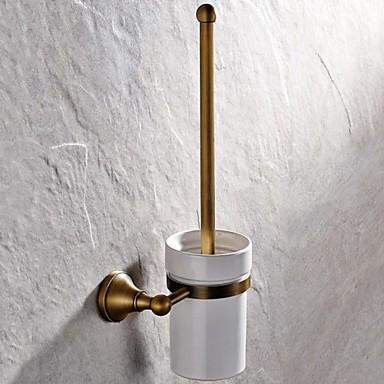 WC-Bürstenhalter Gute Qualität Antike Messing 1 Stück - Hotelbad