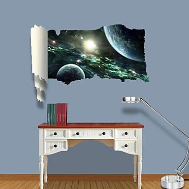 Dekorative Wand Sticker - 3D Wand Sticker Landschaft / Freizeit Wohnzimmer / Schlafzimmer / Esszimmer