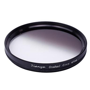TIANYA® 67mm Circular Graduated Grey Filter for Nikon D7100 D7000 18-105 18-140 Canon 700D 600D 18-135