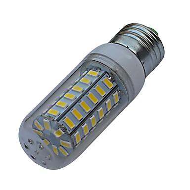 3000-3200/6000-6500 lm E26/E27 LED Corn Lights 56 leds SMD 5730 Warm White Cold White AC 220-240V