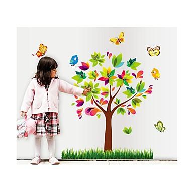Dekoratif Duvar Çıkartmaları - Uçak Duvar Çıkartmaları Hayvanlar / Botanik Oturma Odası / Yatakodası / Banyo