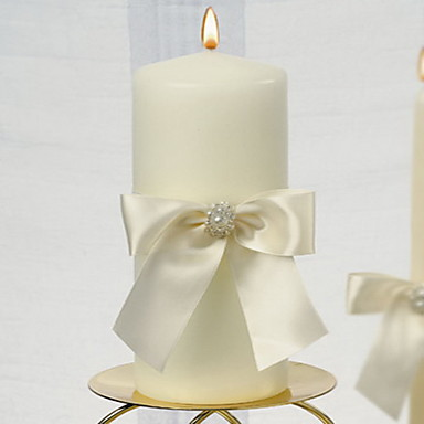 Candle Favors Piece/Set Candles Non-personalised White Wedding Ceremony