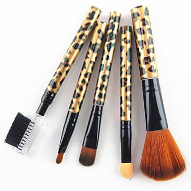 5pcs Makeup Harjat ammattilainen Synteettinen tukka Ammattilais Muovi