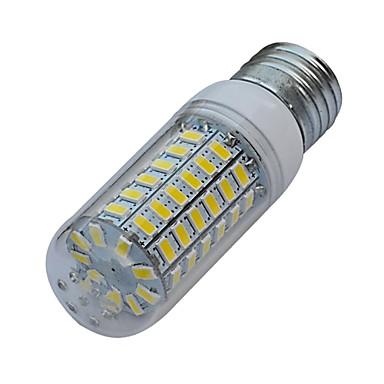 3000-3200/6000-6500 lm E26/E27 LED kukorica izzók T 69 led SMD 5630 Meleg fehér Hideg fehér AC 220-240V