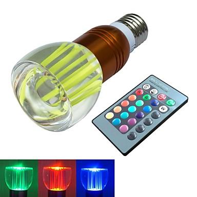 E26/E27 LED-bollampen 1 leds Krachtige LED RGB RGB