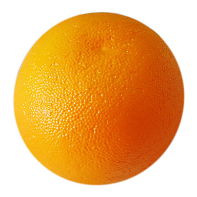 πορτοκαλί διακοσμητικά φρούτα, 2pcs / σετ