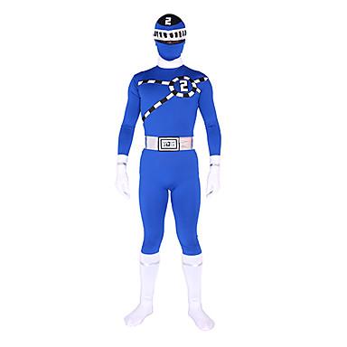 Zentai Suits Ninja Zentai Cosplay Costumes Print Leotard / Onesie / Zentai Lycra Men's / Women's Halloween / High Elasticity