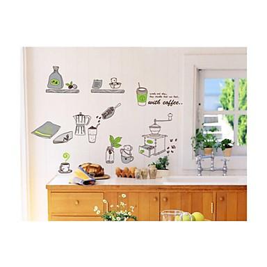 настенные наклейки наклейки на стены, стиль кухонных принадлежностей наклейки стены PVC