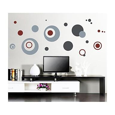 стикеры стены Наклейки на стены, стиль красочный круг наклейки стены PVC