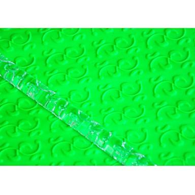Vier c Kuchen liefert Acrylrollenstift für Kuchendeckel, Fondant strukturierte Nudel Dekoration Musterwalze