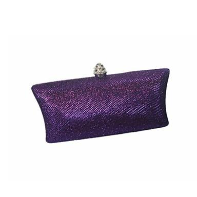Damen Taschen Glitzer Abendtasche für Veranstaltung / Fest Ganzjährig Schwarz Silber Purpur Braun Marinenblau