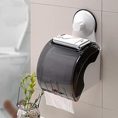 Powerful Sucker Toilet Roll Holder/Waterproof Toilet Paper Frame With Suction Cup