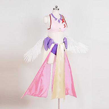 Inspiriert von Kein Spiel Kein Leben Cosplay Anime Cosplay Kostüme Cosplay Kostüme Patchwork Top Rock Armreif Handschuhe Flügel Gürtel