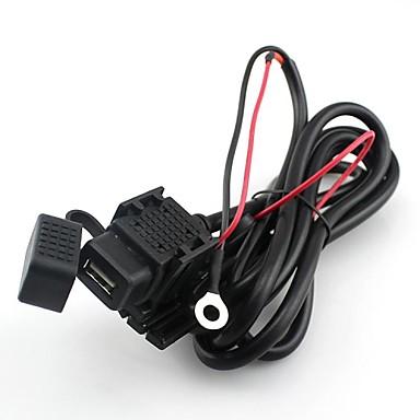 motorfiets fiets usb voeding poort stopcontact oplader voor mobiele telefoon 12v / 24v
