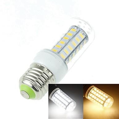 E26/E27 LED Corn Lights T 48 SMD 5630 1400-1800lm Warm White Cold White 3000-3500K 6000-6500K Decorative AC 100-240V