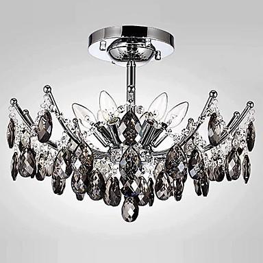 Modern/Hedendaags Kristal Kroonluchters Toortswandlamp Voor Woonkamer 110-120V 220-240V Lamp Niet Inbegrepen