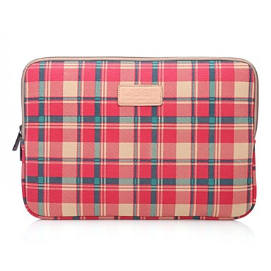 Lisen 10 '' 11 '' 12 '' красный узор плед защитный рукав ноутбук сумка