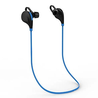 In Ear Wireless Headphones Plastic Sport & Fitness Earphone with Volume Control with Microphone Noise-isolating Headset