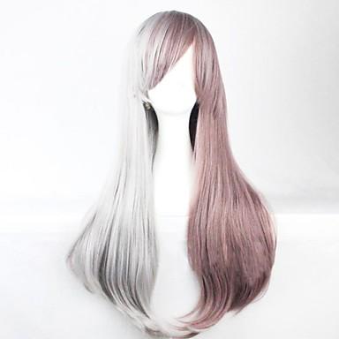 Ίσιο/Φυσικό Κυματιστό Περούκα - από Συνθετικό - για Γυναικείο