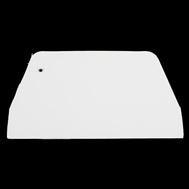 выпечка пищевой белый пластиковый скребок инструмент трапециевидной (средний)